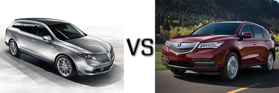 Lincoln MKT vs Acura MDX