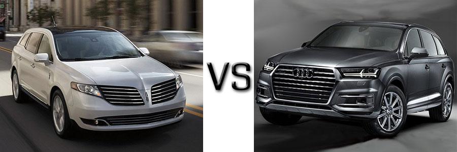 2017 Lincoln MKT vs Audi Q7