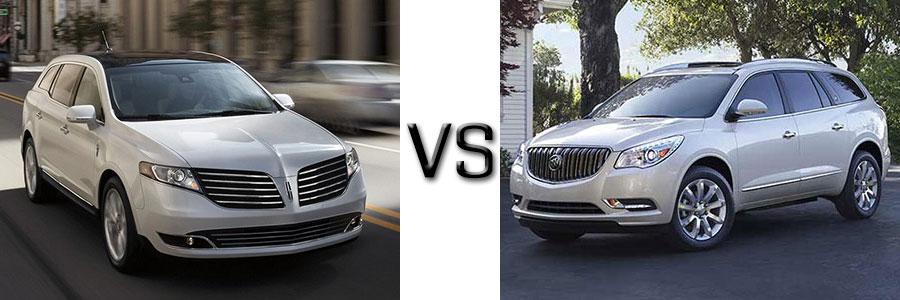 2017 Lincoln MKT vs Buick Enclave