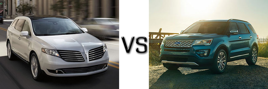 2017 Lincoln MKT vs Ford Explorer