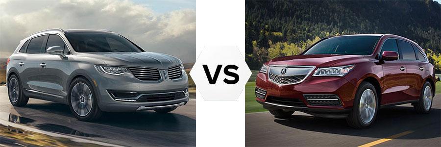 Lincoln MKX vs Acura MDX