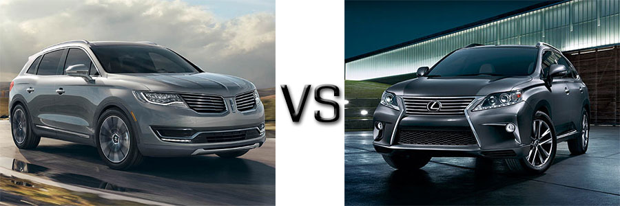 2016 Lincoln MKX vs Lexus RX