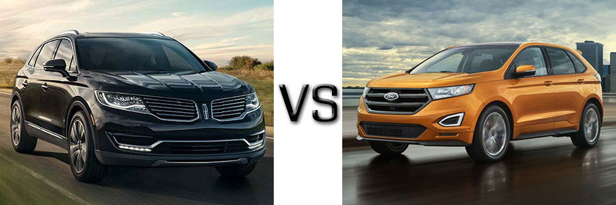 2017 Lincoln MKX vs Ford Edge