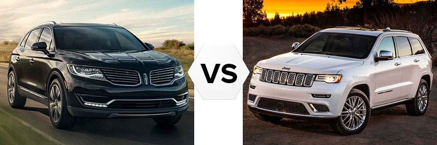 2017 Lincoln MKX vs Cadillac SRX