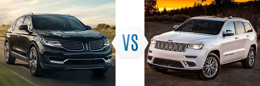 2017 Lincoln MKX vs Cadillac SRX