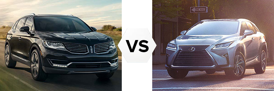 2017 Lincoln MKX vs Lexus RX