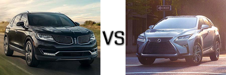 2017 Lincoln MKX vs Lexus RX