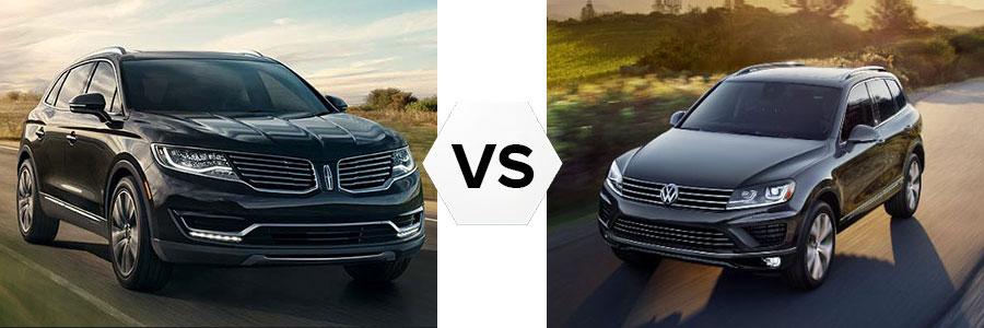 2017 Lincoln MKX vs Volkswagen Touareg