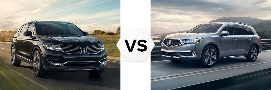 2018 Lincoln MKX vs Acura MDX