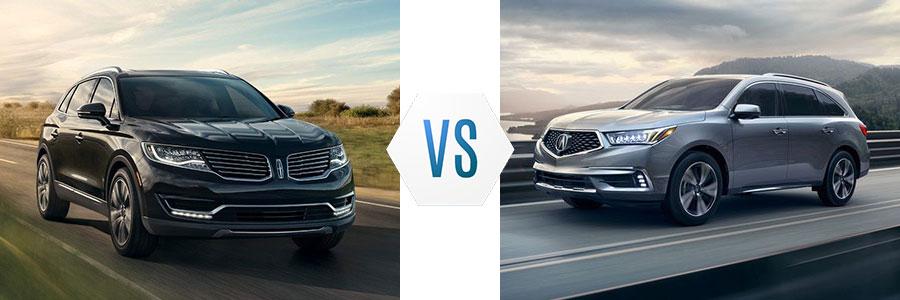 2018 Lincoln MKX vs Acura MDX