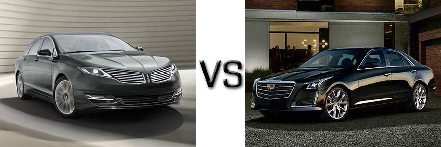 2016 Lincoln Mkz Vs Cadillac Cts