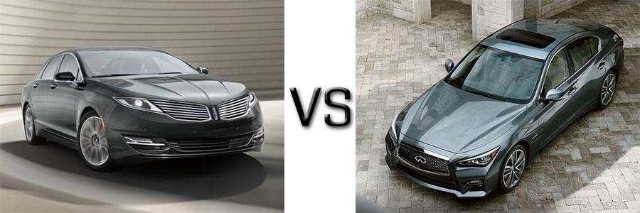 Lincoln MKZ vs Infiniti Q50
