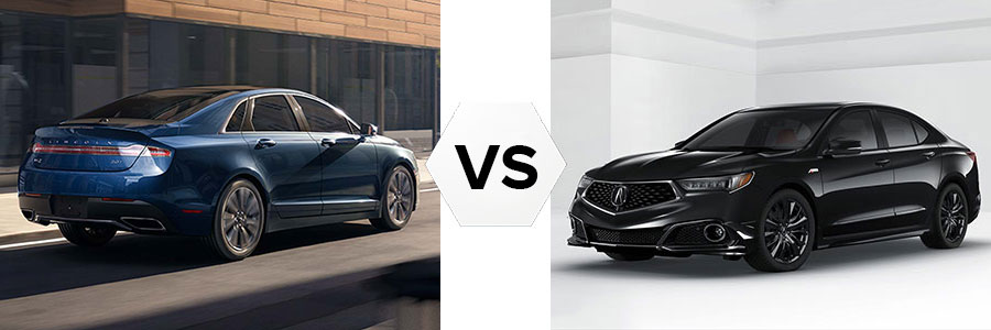2017 Lincoln MKZ vs Acura TLX
