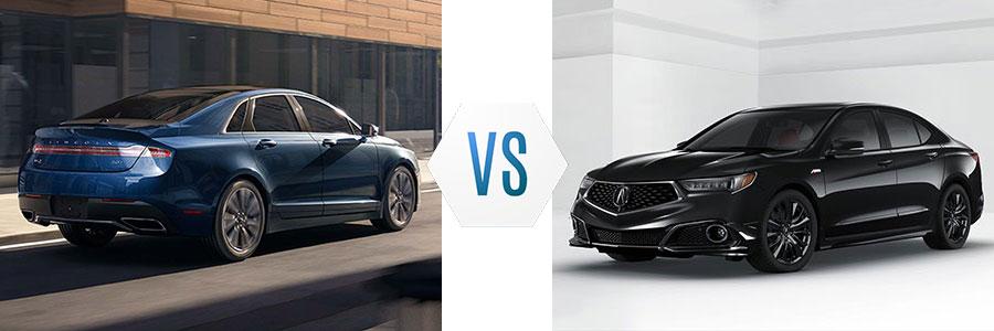 2017 Lincoln MKZ vs Acura TLX
