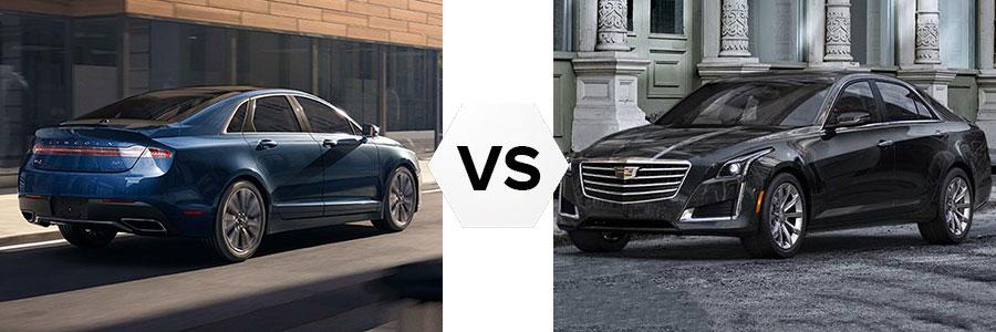 2017 Lincoln MKZ vs Cadillac CTS