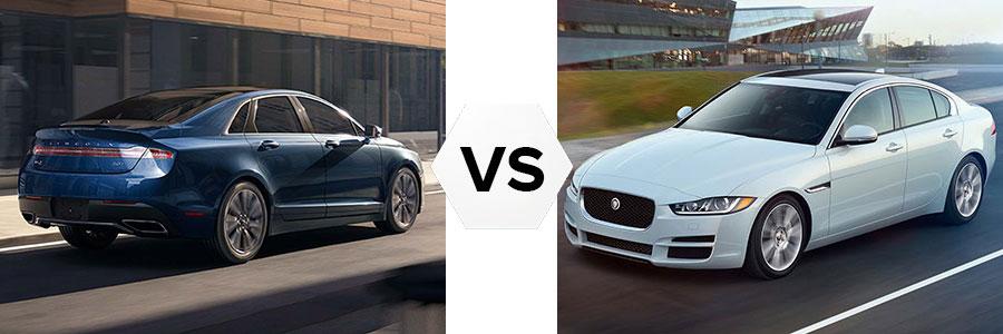 2017 Lincoln MKZ vs Jaguar XE