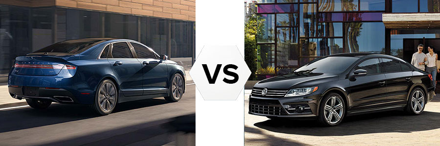 2017 Lincoln MKZ vs Volkswagen CC