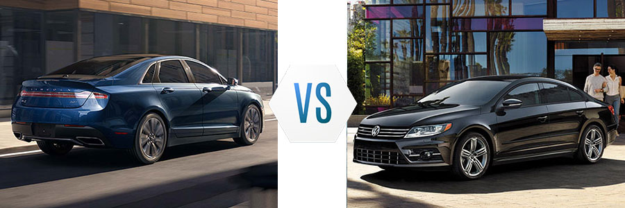 2017 Lincoln MKZ vs Volkswagen CC