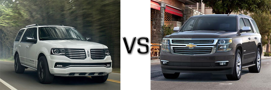 2016 Lincoln Navigator vs Chevrolet Tahoe