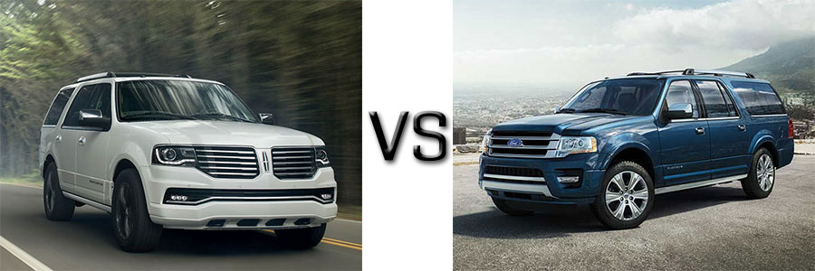 Lincoln Navigator vs Ford Expedition
