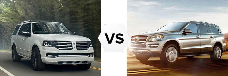 Lincoln Navigator vs Mercedes GL