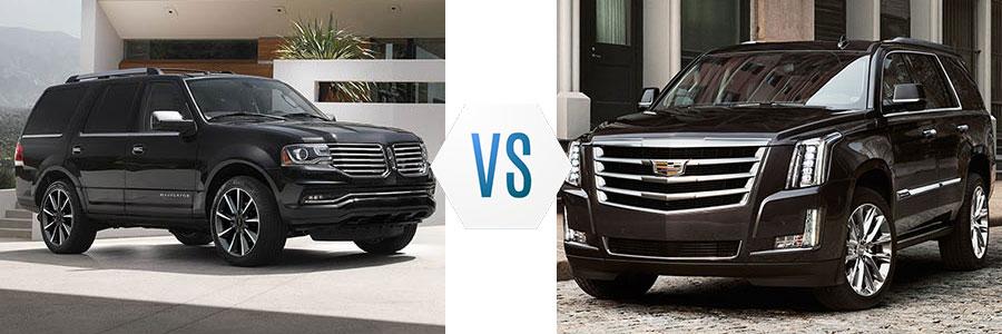 2017 Lincoln Navigator vs Cadillac Escalade