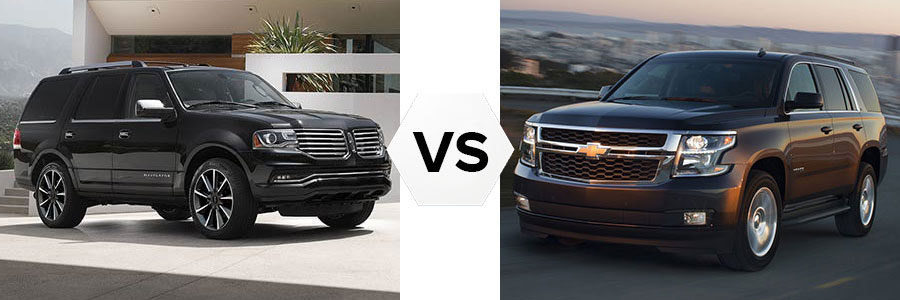 2017 Lincoln Navigator vs Chevrolet Tahoe