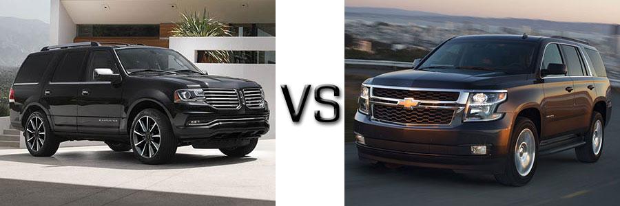 2017 Lincoln Navigator vs Chevrolet Tahoe