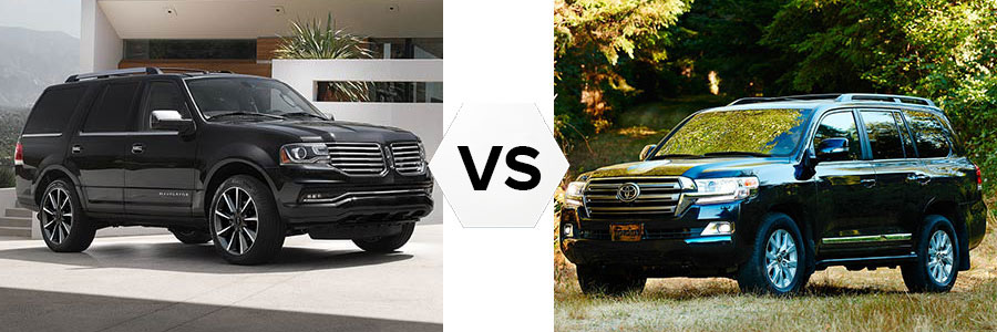 2017 Lincoln Navigator vs Toyota Land Cruiser