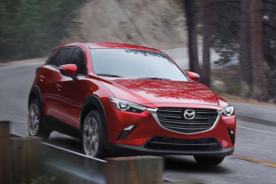 2020 Mazda CX-3 on the Road