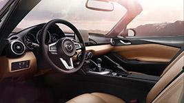 2017 Mazda MX-5 Miata RF Driver-Centric Cockpit