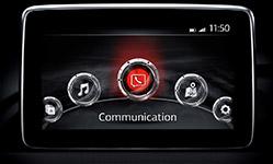 2017 Mazda MX-5 Miata RF Voice-Activated Infotainment