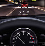 2017 Mazda 3 Active Driving Display