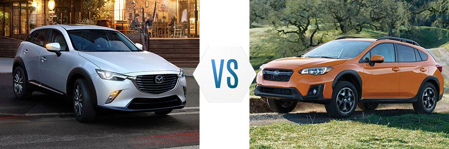2017 Mazda CX-3 vs Subaru Crosstrek