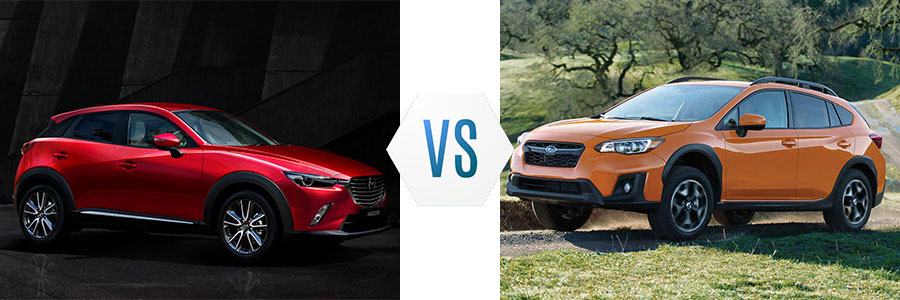 2018 Mazda CX-3 vs Honda CR-V