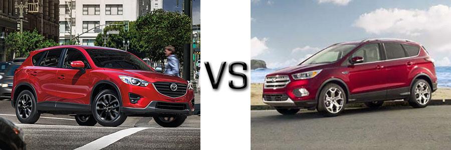 2016.5 Mazda CX-5 vs 2017 Ford Escape