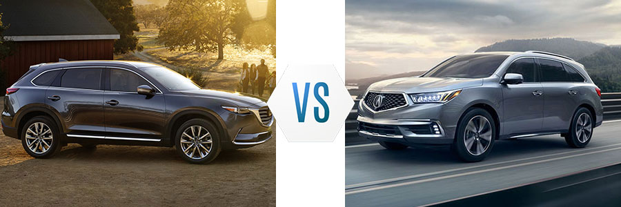 2017 Mazda CX-9 vs Acura MDX