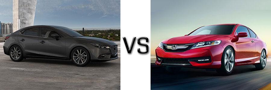 2017 Mazda 3 vs Honda Accord