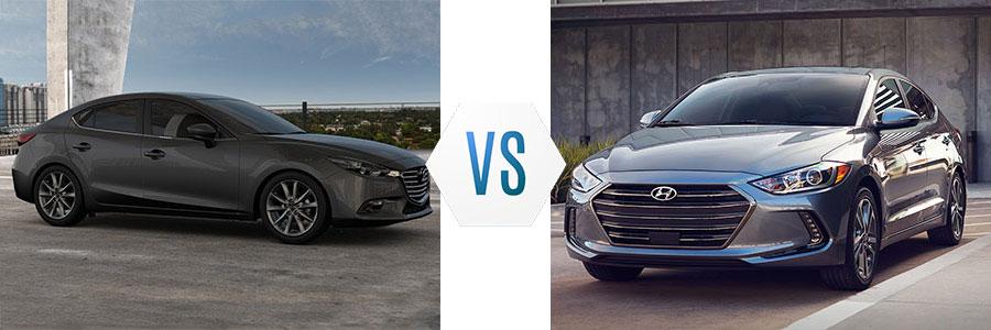 2017 Mazda 3 vs Hyundai Elantra