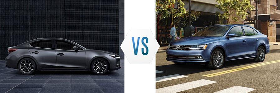 2018 Mazda 3 vs Volkswagen Jetta