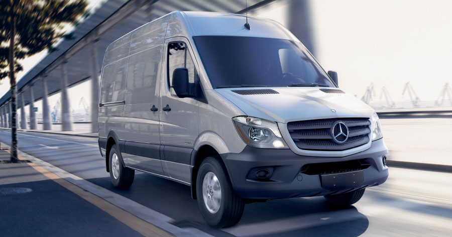 2016 mercedes benz sprinter cargo for John sisson mercedes benz