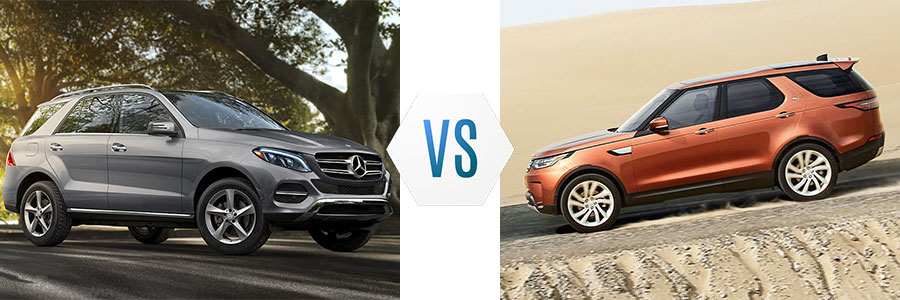2017 mercedes benz gle class vs land rover discovery for John sisson mercedes benz