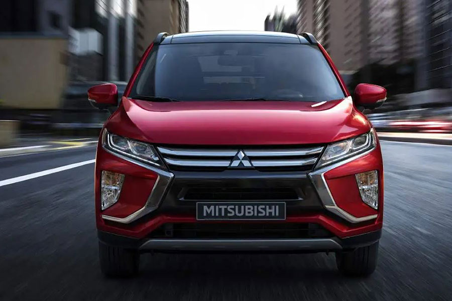 2018 Mitsubishi Eclipse Cross on the Road