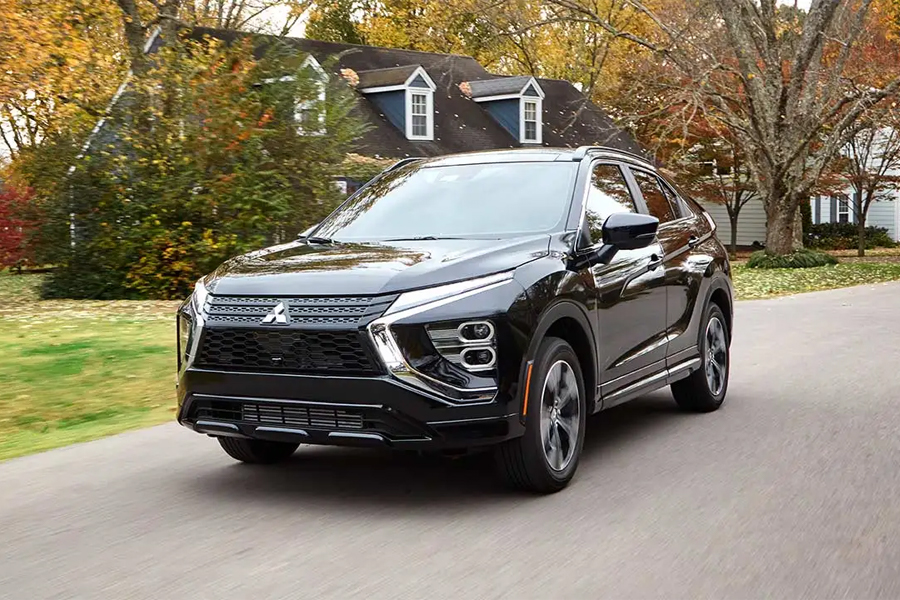 2022 Mitsubishi Eclipse Cross on the Road