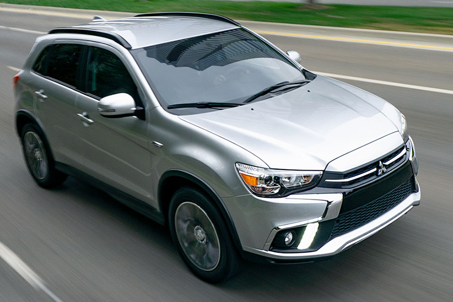 2019 Mitsubishi Outlander Sport on the Road