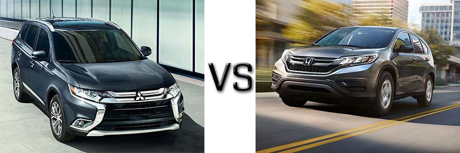 2016 Mitsubishi Outlander vs Subaru Forester