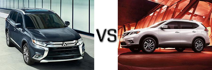 2016 Mitsubishi Outlander vs Nissan Rogue