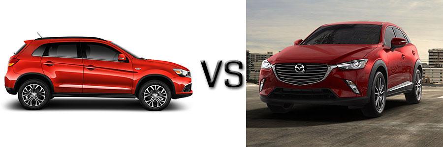 2016 Mitsubishi Outlander Sport vs Mazda CX-3