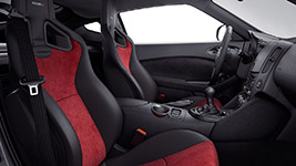 2017 Nissan 370Z Uniquely Bolstered Seats