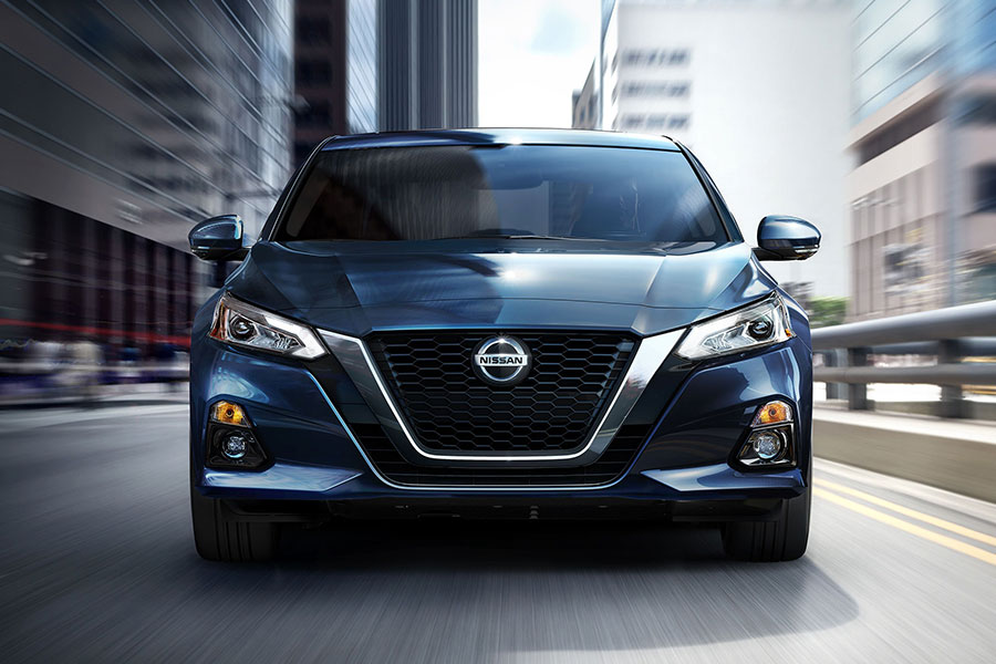 2020 Nissan Altima on the Road
